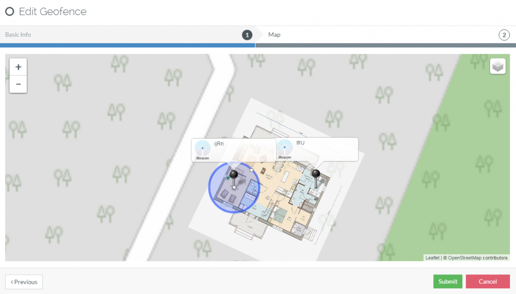 beacon-supported-geofence