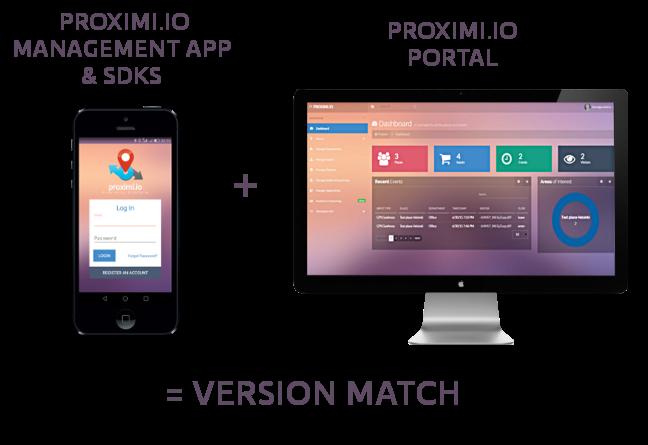 portal and sdk version match