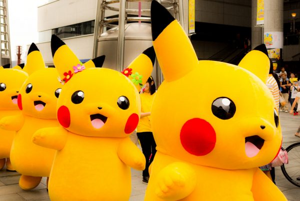 Pokemon Go Pikachu Parade