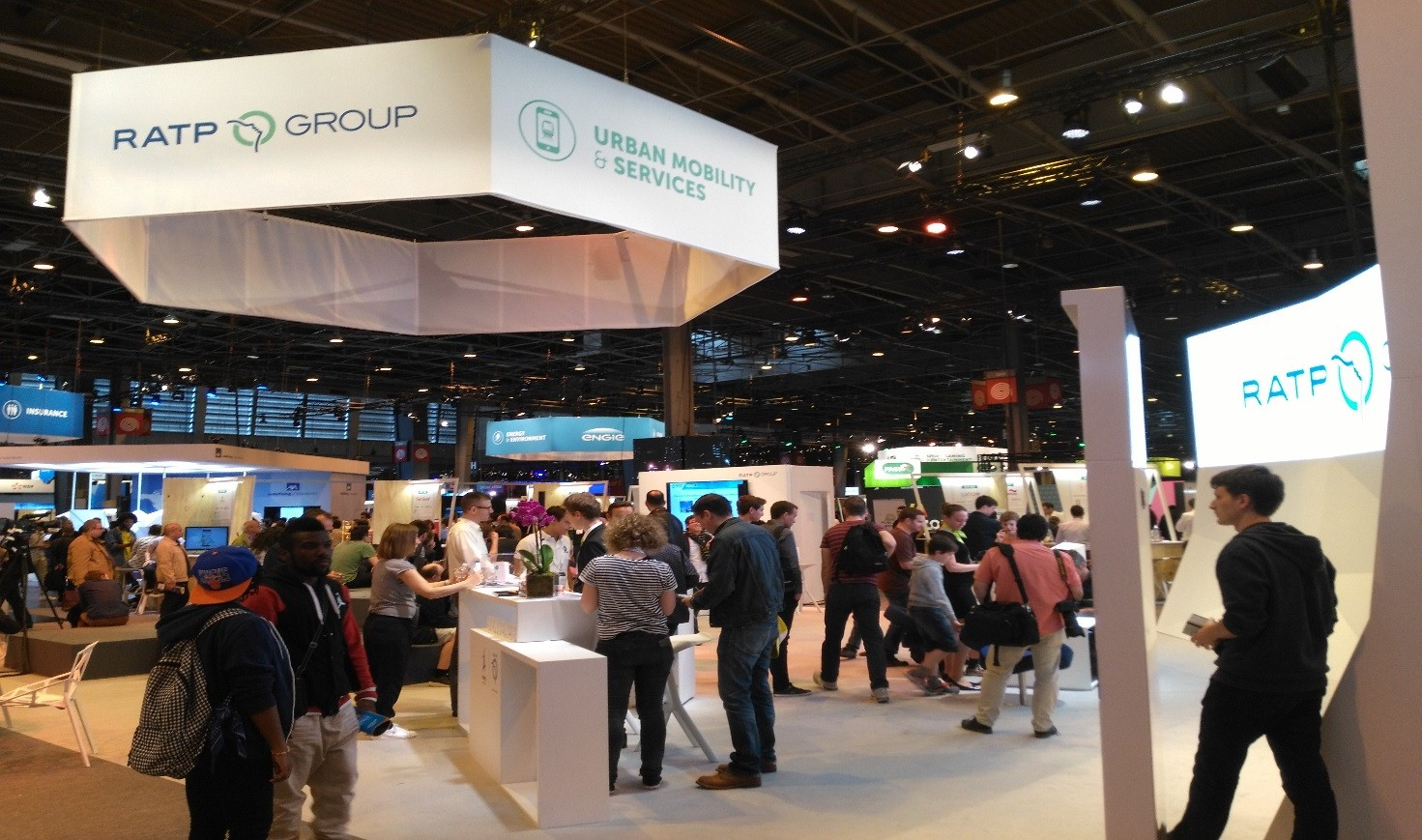 RATP Group booth at VIVA