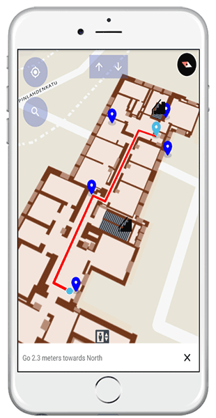Location-based solution_indoor wayfinding